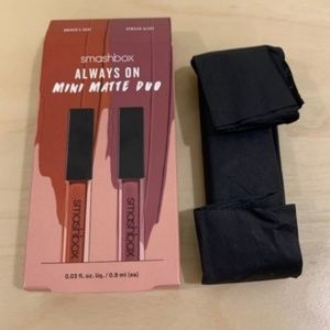 💄👄NEW 🤩 Smashbox Mini Matte Lipstick Duo